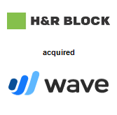 H & R Block, Inc. acquired Wave Financials Inc.
