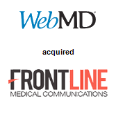 WebMD Corporation acquired Frontline Medical Communications