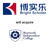 Bright Scholar Education Holdings Limited will acquire Bosworth Independent College Limited