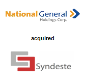 National General Holdings Corp. acquired Syndeste LLC