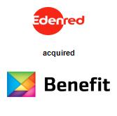 Edenred acquired Benefit Online