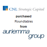 CNL Strategic Capital purchased Roundtables from Auriemma Consulting Group