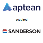Aptean acquired Sanderson Group plc
