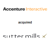 Accenture Interactive acquired Sutter Mills