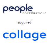 People Corporation acquired Collage HR