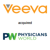 Veeva Systems acquired Physicians World Communications Group