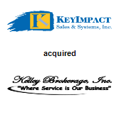KeyImpact Sales & Systems, Inc. acquired Kelley Brokerage, Inc.