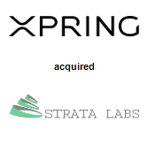 Xpring acquired Strata Labs