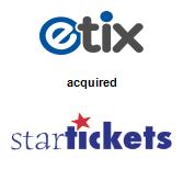 Etix, Inc. acquired Star Tickets