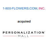 1-800-Flowers acquired PersonalizationMall.com