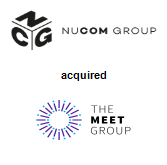 NuCom Group acquired The Meet Group