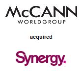 McCann Worldgroup acquired Synergy Creative