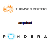 Thomson Reuters acquired Pondera Solutions