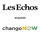Les Echos SA acquired ChangeNOW