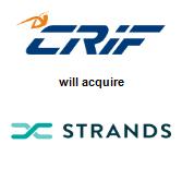 CRIF will acquire Strands, Inc.