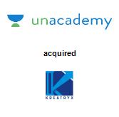 Unacademy acquired Kreatryx