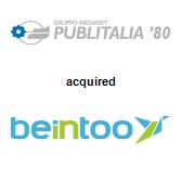 Publitalia '80 acquired Beintoo Inc