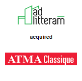 Ad Litteram Inc. acquired Atma Classique