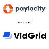 Paylocity acquired VidGrid