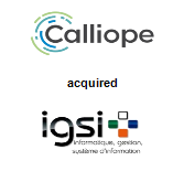 Calliope acquired Informatique Gestion Système d'Information