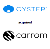 Oyster HR Inc. acquired Carrom