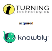 Turning Technologies, LLC acquired Knowbly Learning Systems