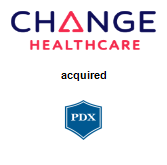 Change Healthcare Corporation acquired PDX, Inc.