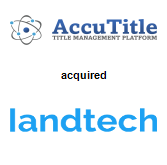 AccuTitle acquired Landtech