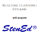 Realtime Learning Systems will acquire Stenotype Educational Products, Inc.