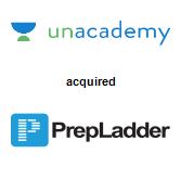 Unacademy acquired PrepLadder