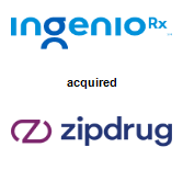 IngenioRx acquired Zipdrug, Inc.