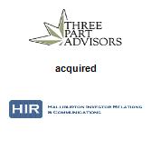 Three Part Advisors acquired Halliburton Investor Relations & Communications
