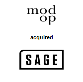 modop acquired Sage Agency