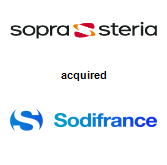 Sopra Steria acquired Sodifrance SA