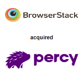 BrowserStack acquired Percy