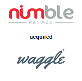 Nimble Pet App acquired Waggle Ventures, Inc.