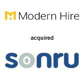 Modern Hire acquired Sonru Limited