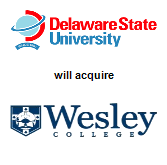 Delaware State University will acquire Wesley College
