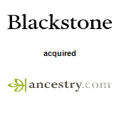 Blackstone Group LP will acquire Ancestry.com