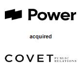 Power Digital Marketing acquired Covet Public Relations Inc.