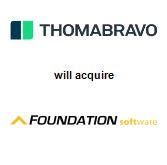 Thoma Bravo, LLC will acquire Foundation Software