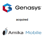 Genasys, Inc. acquired Amika Mobile Corporation