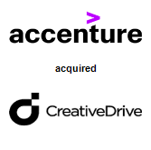 Accenture acquired CreativeDrive