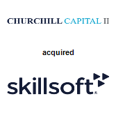Churchill Capital II acquired SkillSoft Limited