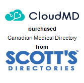 CloudMD Software & Services Inc. purchased Canadian Medical Directory from Scott's Directories