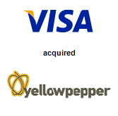 Visa, Inc. acquired YellowPepper