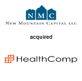 New Mountain Capital, LLC acquired Healthcomp