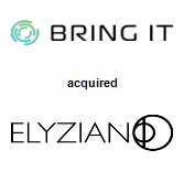 BRING IT LLC acquired Elyzian Corp.
