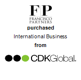 Francisco Partners Management LLC purchased International Business from CDK Global