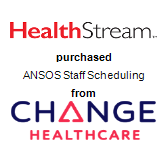 HealthStream, Inc. purchased ANSOS Staff Scheduling from Change Healthcare Corporation